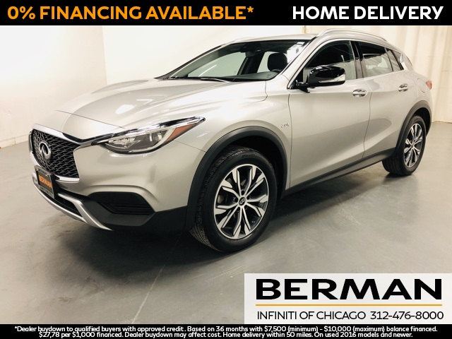 Certified Pre-Owned 2017 INFINITI QX30 Luxury
