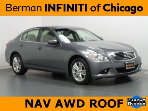 Certified Pre-Owned 2015 INFINITI Q40 Base